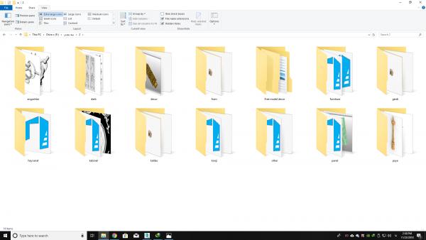 مجموعه کامل فایل های دو بعدی و سه بعدی