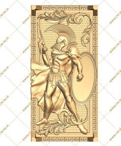 فایل طرح سه بعدی تخته نرد سرباز رومی