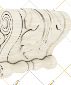فایل طرح سه بعدی سر ستون کد 5
