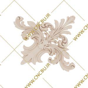 فایل طرح سه بعدی گل منبت کد 2