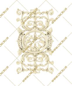 فایل طرح سه بعدی گل منبت کد 5