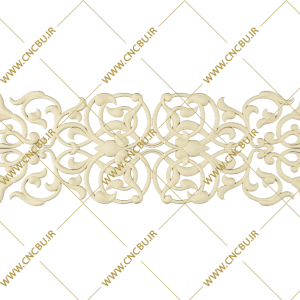 فایل طرح سه بعدی گل منبت کد 6