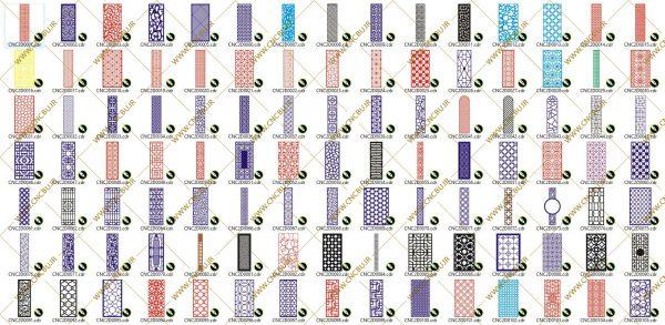 پک پانصد عددی پنل های دو بعدی ( وکتور ) شماره 1