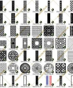 پک پانصد عددی پنل های دو بعدی ( وکتور ) شماره 4