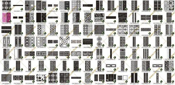 پک پانصد عددی پنل های دو بعدی ( وکتور ) شماره 2