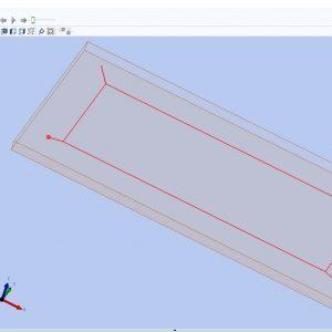 فایل پارامتریک درب کابینت برای نرم افزار Woodwop کد 1