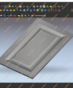 فایل پارامتریک درب کابینت برای نرم افزار Woodwop کد 2