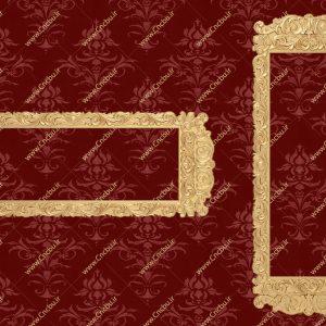 فایل طرح سه بعدی قاب آینه کد 2