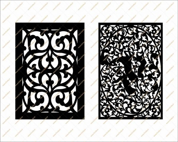 فایل طرح خطی دو بعدی سی ان سی درب کد 3