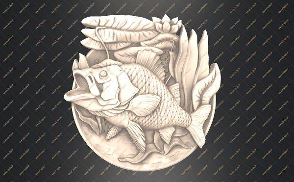 فایل طرح سه بعدی تابلو حیوانات کد 2