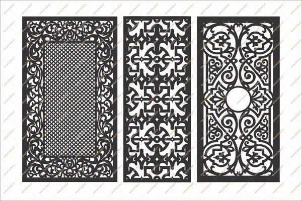 فایل طرح خطی دو بعدی سی ان سی درب کد 9