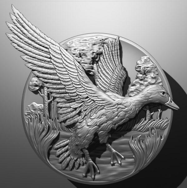فایل طرح سه بعدی تابلو حیوانات کد 7