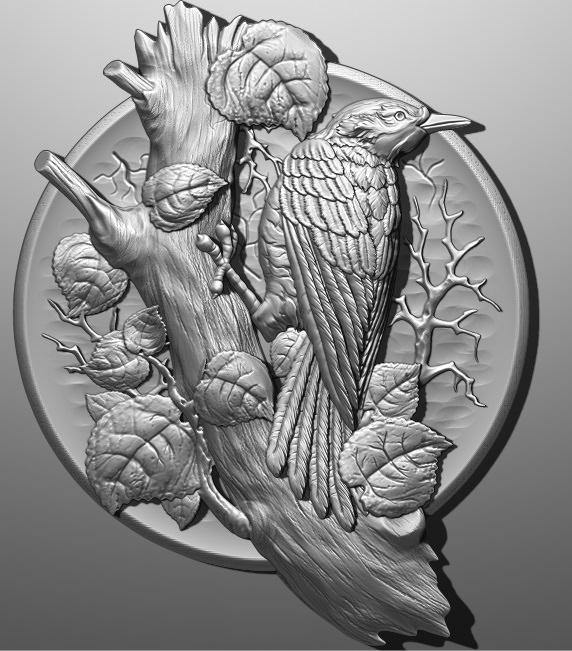 فایل طرح سه بعدی تابلو حیوانات کد 9