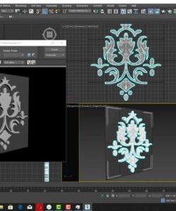 ویدیو آموزش تبدیل عکس های دو بعدی به حجم سه بعدی در نرم افزار تری دی مکس