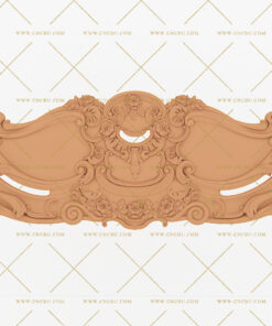 فایل طرح سه بعدی تخت خواب منبت کد 9