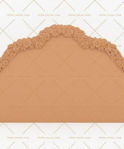 فایل طرح سه بعدی تخت خواب منبت کد 10