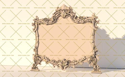 فایل طرح سه بعدی تخت خواب منبت کد 5
