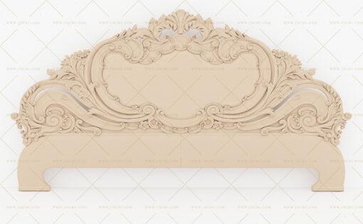 فایل طرح سه بعدی تخت خواب منبت کد 7