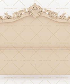 فایل طرح سه بعدی تخت خواب منبت کد 8
