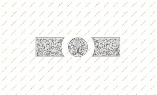 فایل طرح سه بعدی کتیبه منبت 9-2