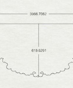 فایل طرح دو بعدی کتیبه پرده کد 2 همراه با جی کد